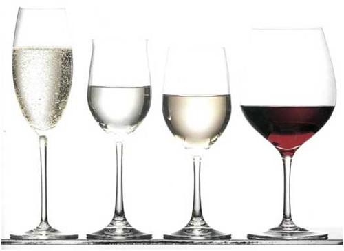 Из чего пить шампанское, вино, коньяк